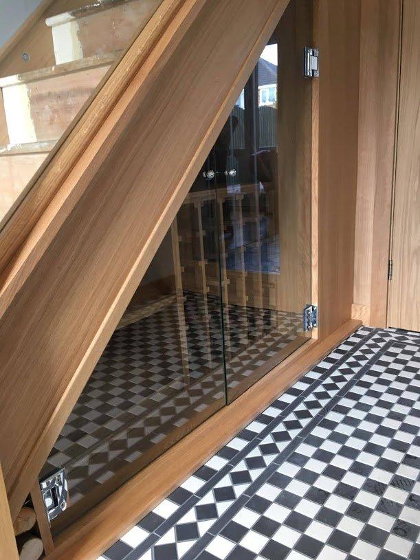 RGS under-stairs storage wine rack installation