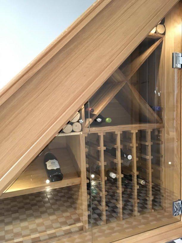 RGS under-stairs storage wine rack
