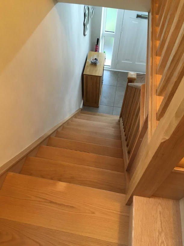 Wooden RGS staircases wooden stair treads and spindles
