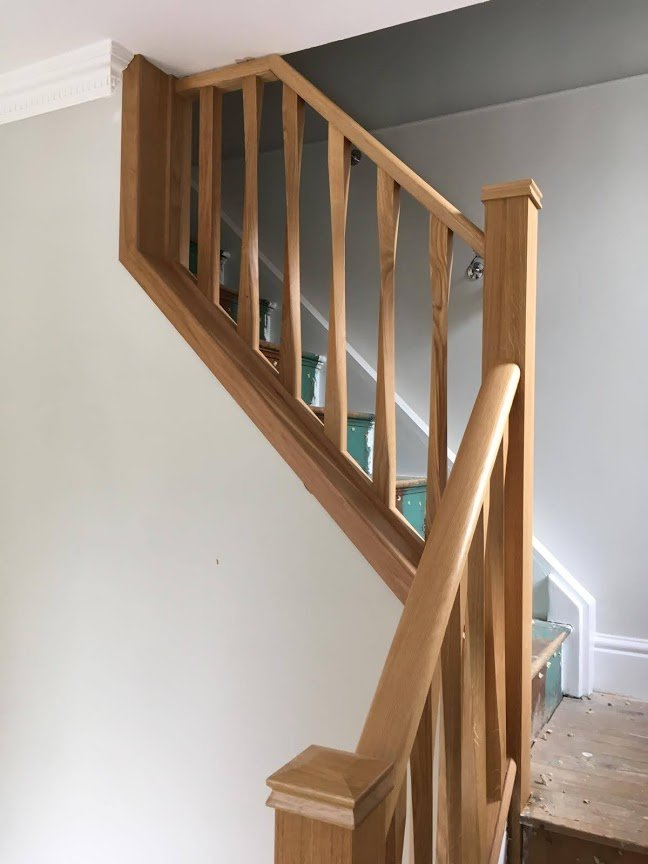 RGS wooden stair spindles